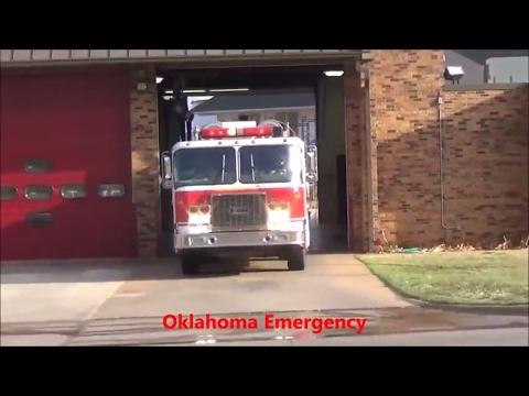 Oklahoma City Reserve Engine 15 responding