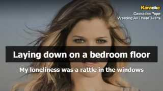 Cassadee Pope - Wasting All These Tears (Instrumental - Karaoke Version)