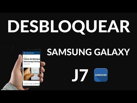 Cómo Desbloquear un Samsung Galaxy J7