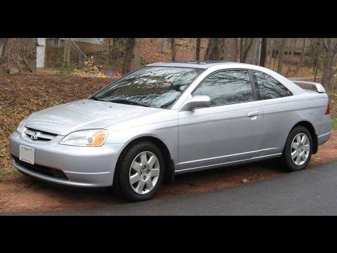 2001 2002 2003 2004 2005 Honda Civic belt squeal Fix/ Adjustment