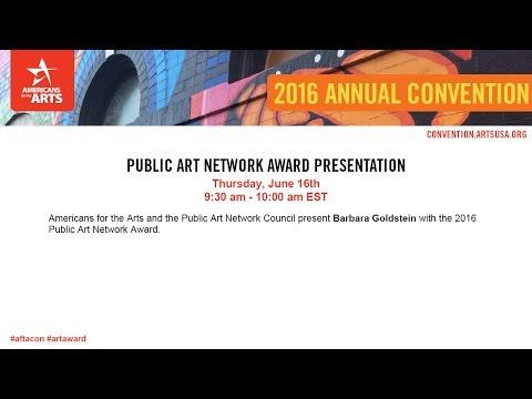Public Art Network Award Presentation