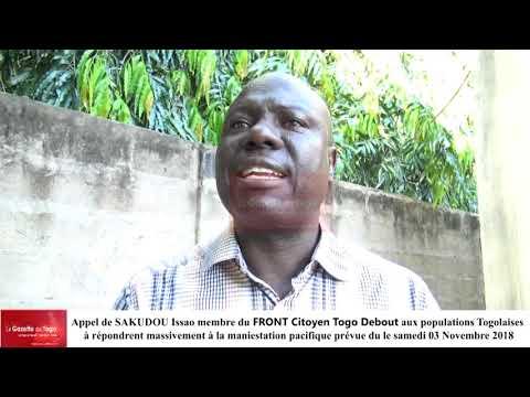 La liberté n'a pas de prix, lance Sakidou Issao à l'endroit de ses frères et sœurs