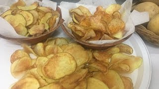 how to make potato chips