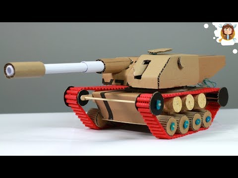 How to Make a  RC Tank that Fires - Very Easy