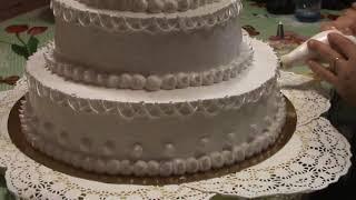 Украшение свадебного торта 1