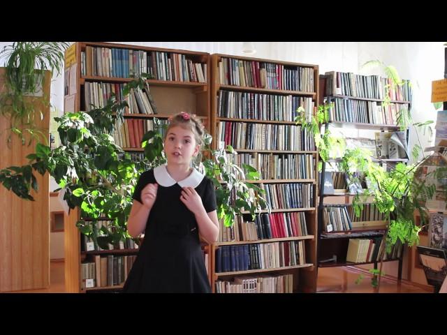 Изображение предпросмотра прочтения – ЕкатеринаПлатонова читает произведение «Мама, глянь-ка из окошка» А.А.Фета