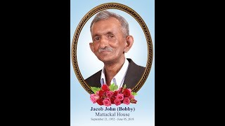 Jacob JOHN ( Bobby) Funeral Service LIVE