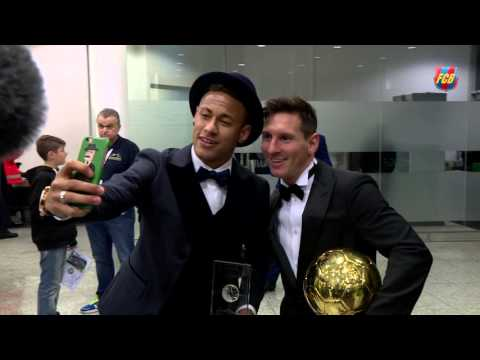 #BallondOr2015 – The FC Barcelona party return to Barcelona