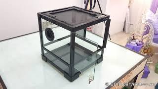 Обзор террариума ReptiZoo 30x30x30