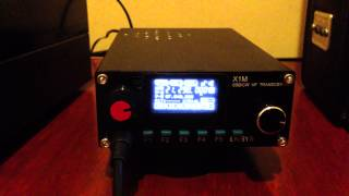 X1-M Pro Version QRP HF Transceiver from China.. My first impression.