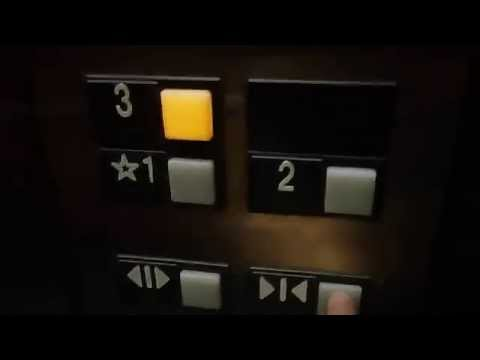 Elevator at the Courtyard Marriott in Concord NH