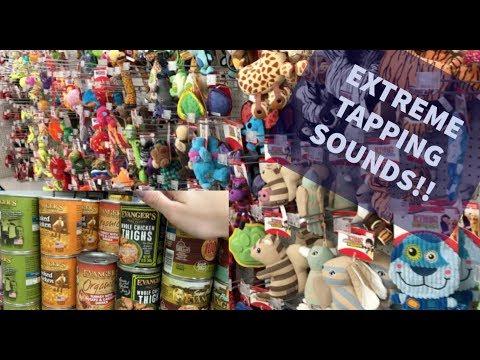 [ASMR] Extreme Tapping Around Pet Store! (Short)