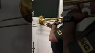 Grabando Trombones +Trombon+Sabrosura