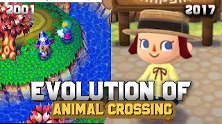 Graphical Evolution of Animal Crossing (2001-2017)