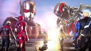 ULTRON & ULTIMO Boss Fight - Marvel Ultimate Alliance 3: The Black Order @ 1080p ᴴᴰ ✔