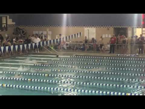 Flint Area Middle School League Meet 2/23/17 - 100 Free Final