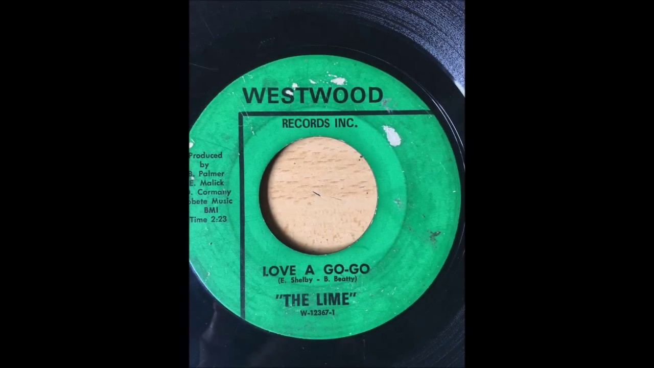 The Lime - Love A Go Go bw Soul Kitchen WESTWOOD - YouTube