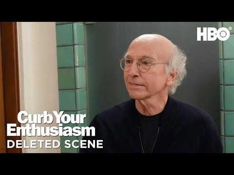 'Toilet Bet' Ep. 4 Deleted Scene | Curb Your Enthusiasm | Season 9