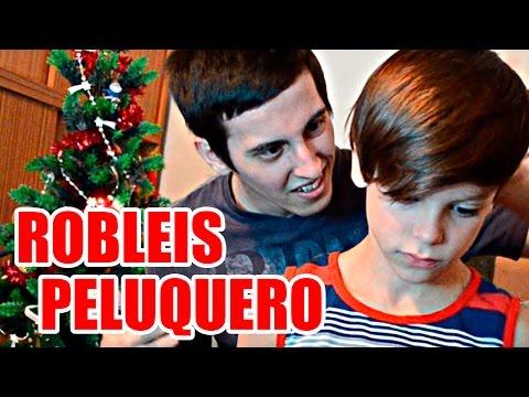 CORTANDOLE EL PELO A MI HERMANITO!! - RobleisIUTU ft. Thiago