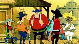Счастливчик Люк Город Маргаритки Lucky Luke Daisy Town 1971