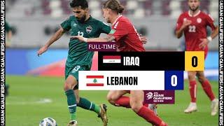 Ирак  0-0  Ливан видео