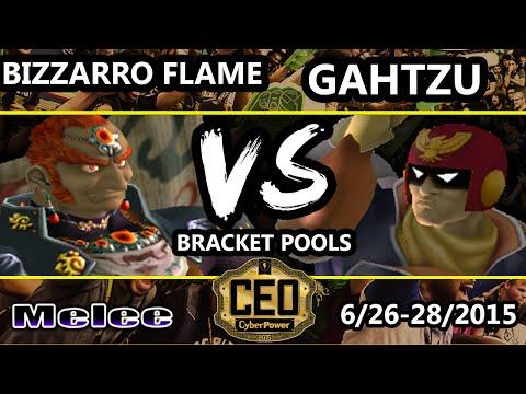 CEO 2015 - Bizzarro Flame (Ganondorf) Vs. Gahtzu (Captain Falcon) SSBM BP WF - Smash Melee
