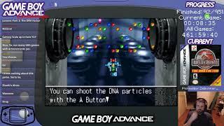 Jurassic Park III: The DNA Factor (GBA Challenge #93) (Longplay)