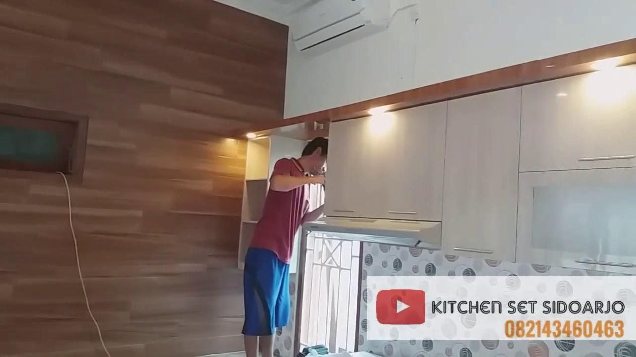 Kitchen Set Minimalis Warna Coklat Kayu Muda Dan Tua Youtube