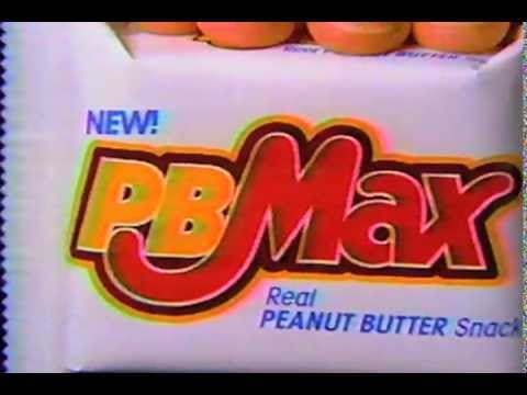 PB Max candy bar commercial 1991  YouTube