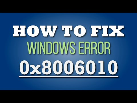 How to Fix Error Code 0x80060100 on Your PC