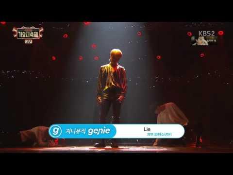 Jimin (BTS) - Lie (Solo Dance Perf. Live) @2016 KBS Gayo Daejukjae