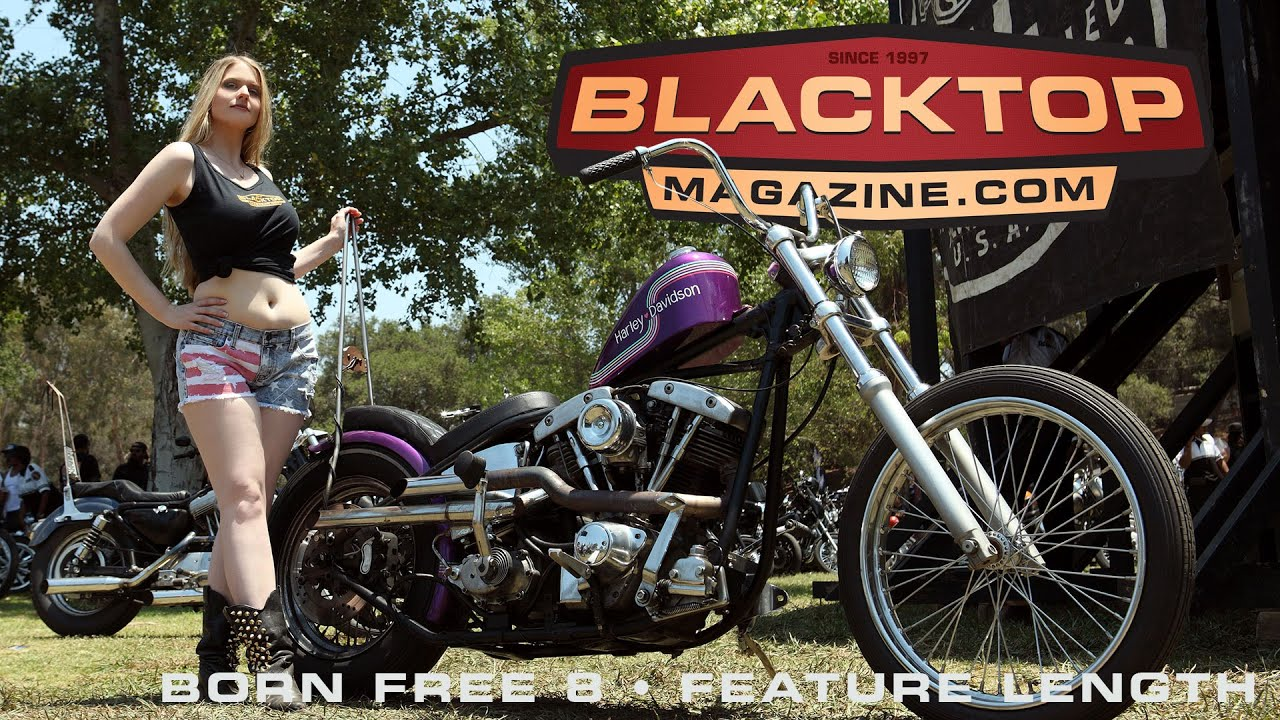 are free motorcycle  Born Free 8 Motorcycle Show June 2016 - YouTube
