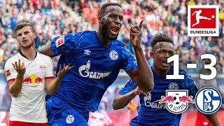 Impressive Schalke 04 Shock League Leaders I RB Leipzig vs. Schalke 04 I 1-3 I Highlights