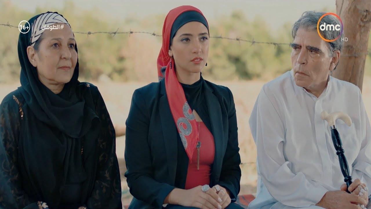 في مشهد غير متوقع مروة ترفض الزواج من يوسف .. ( انتوا بتزغرطوا على ايه ) #الطوفان