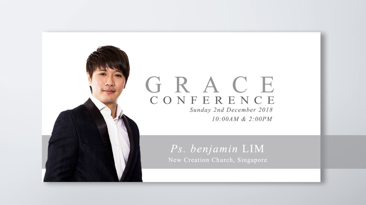 Grace Conference 2018.