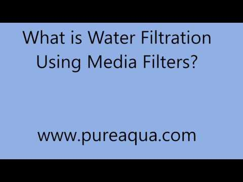 What is Water Filtration Using Media Filter? | www.PureAqua.com