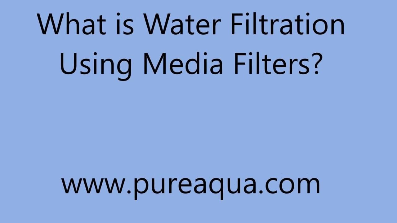 Water Multimedia Filter - Pure Aqua, Inc