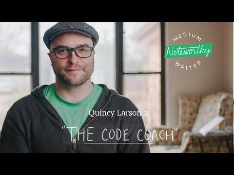 """Quincy Larson is """"The Code Coach"""" 
