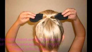 Easy Bun Hair Bun Maker - Girls Deals