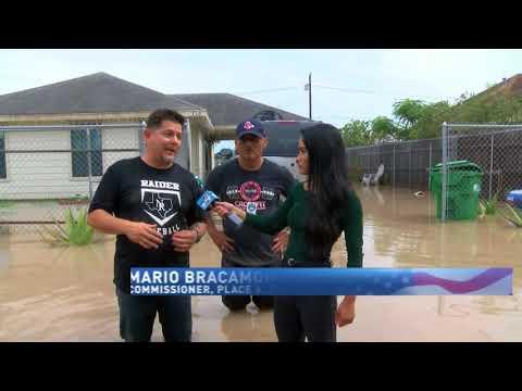 Flooding across the valley | Pharr