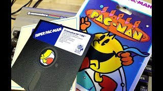 COMMODORE 64 HOOKUP with SUPER PAC-MAN!