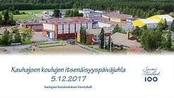 Kauhajoen koulujen itsenäisyyspäiväjuhla, 5.12.2017