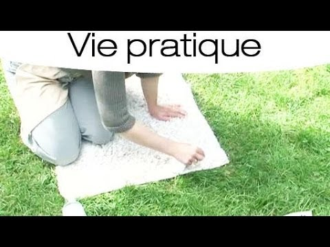 astuce pour rajeunir un vieux tapis youtube. Black Bedroom Furniture Sets. Home Design Ideas