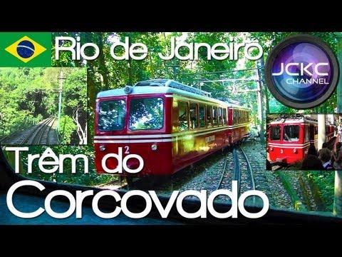 Hyperlapse - Trem do Corcovado (todo o percurso) Rio de Janeiro - Train camera onboad