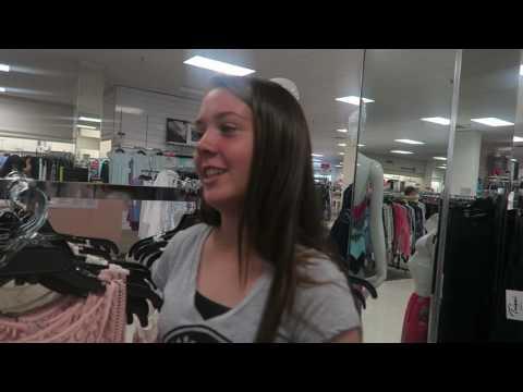 8th grade dance dress shopping!