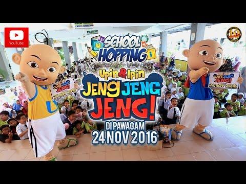 Berita Ep106 School Hopping Upin Ipin Jeng Jeng Jeng Youtube