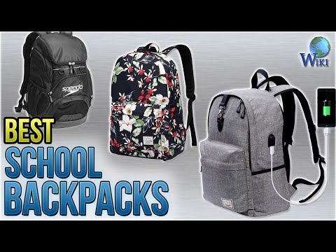 ff91ed0de0f9b 10 Best School Backpacks 2018 - YouTube