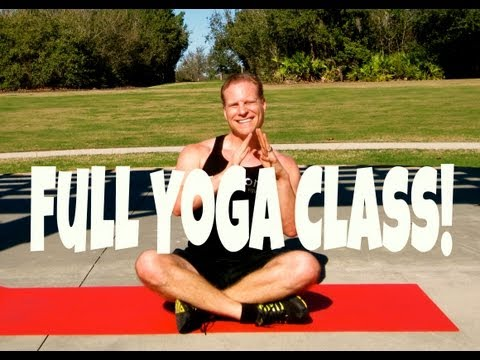 FULL 1 Hour Beginner Yoga Class with Sean Vigue – Workout for Beginners