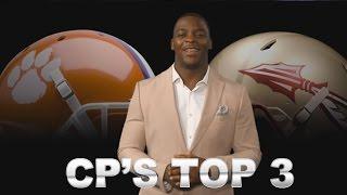 Clemson-Florida State Showdown | CP's Top 3