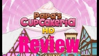 Papa's Cupcakeria-Review and Gameplay-with Commentary